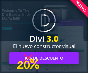 Divi 3.0 20% OFF Developer