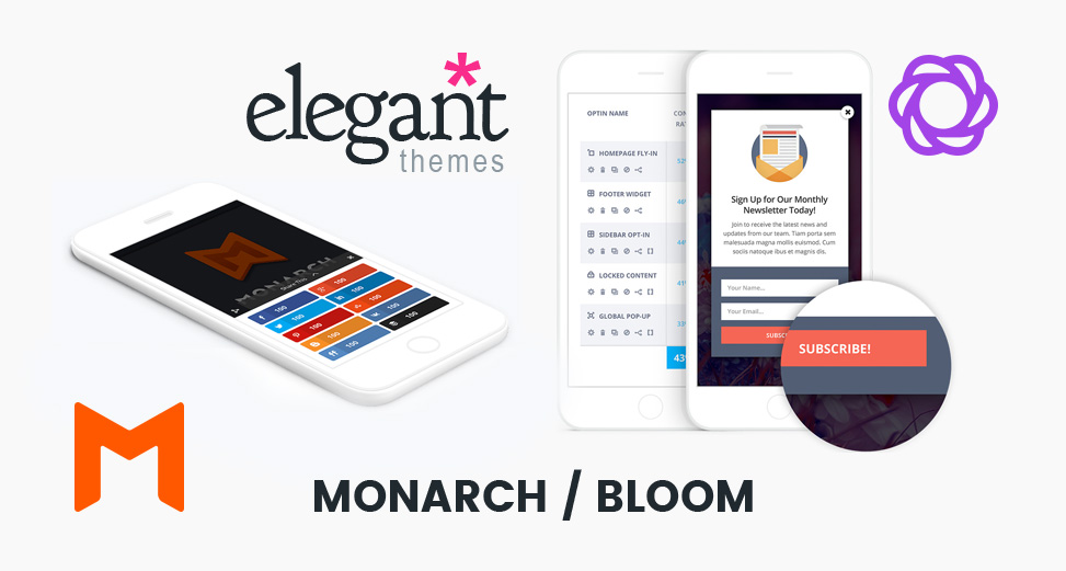Monarch & Bloom, por Elegant Themes en español