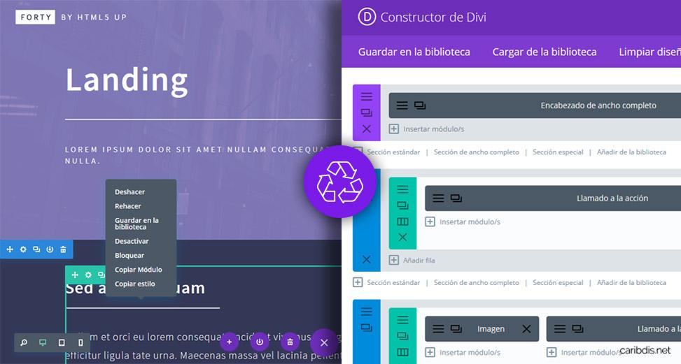 Divi 3: novedades en el constructor visual