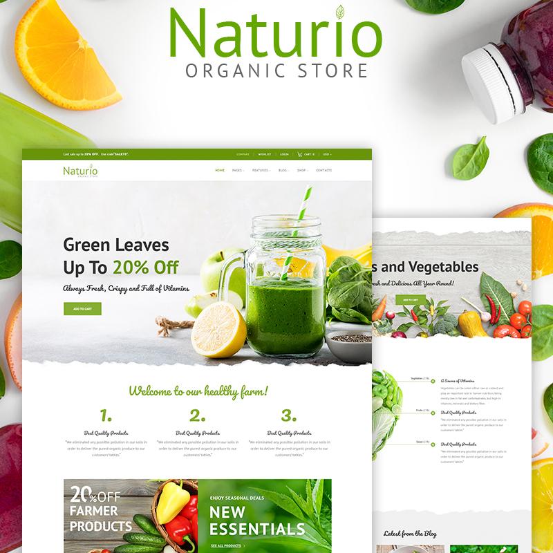 Naturio - Tema WooCommerce para Supermercado