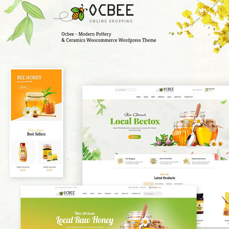 Ocbee - Tema WooCommerce para Tienda de Miel