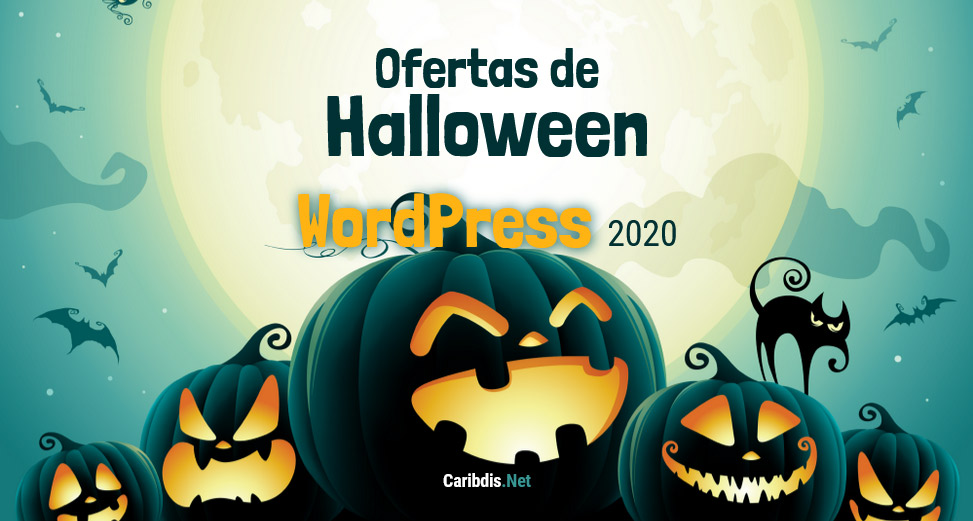 Ofertas de WordPress 🎃 Halloween 2020 🎃