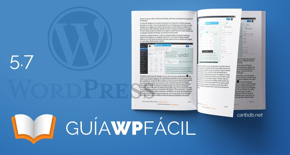 Guía para WordPress 5.7 disponible