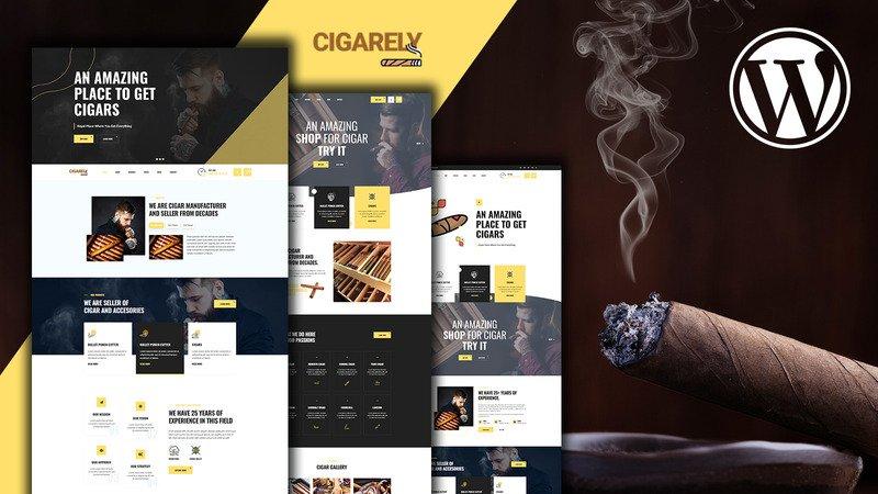 Cigarely es un tema increíble para una tienda de cigarros