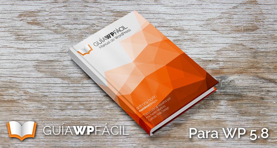Guía para WordPress 5.8 disponible