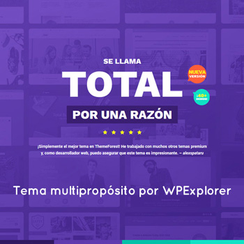 Total - Tema WordPress