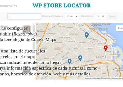 WP Store Locator, por Tijmen Smit