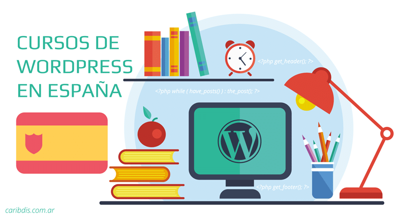 Cursos de WordPress en España