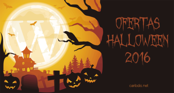 Ofertas de WordPress Halloween 2016