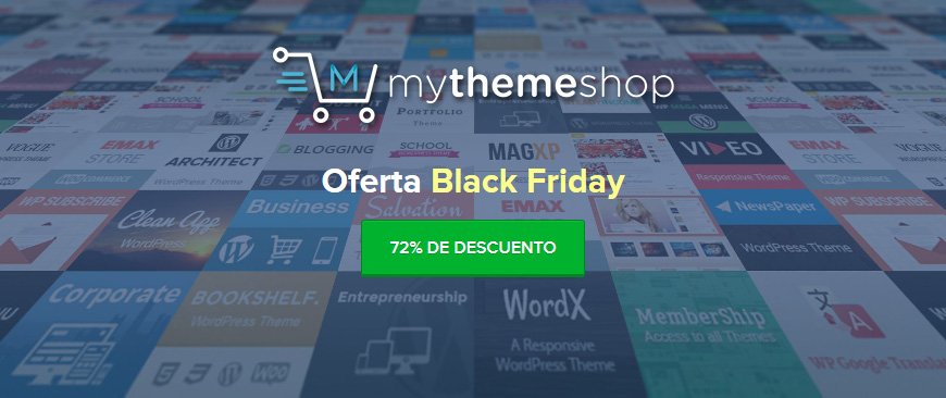 MyThemeShop Black Friday 2017