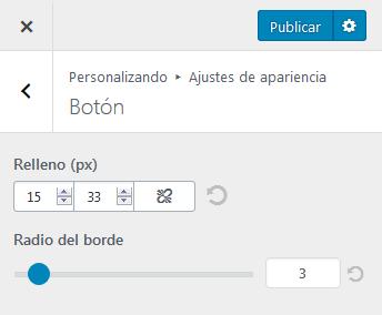 Hestia - Botón