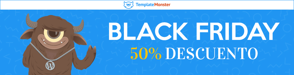 TemplateMonster Black Friday 2017