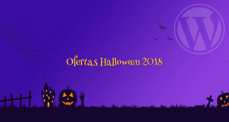 Ofertas de WordPress Halloween 2018