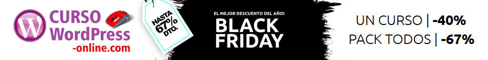 Curso WP - Black Friday