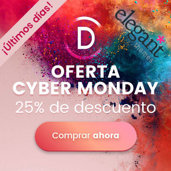 Divi Cyber Monday 25% Off