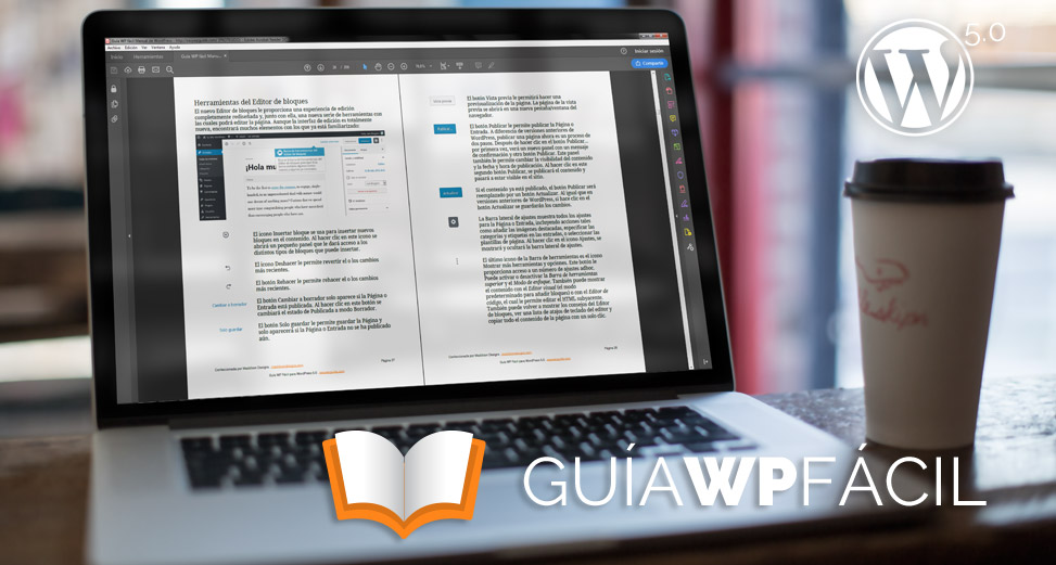 Guía para WordPress 5.0 disponible