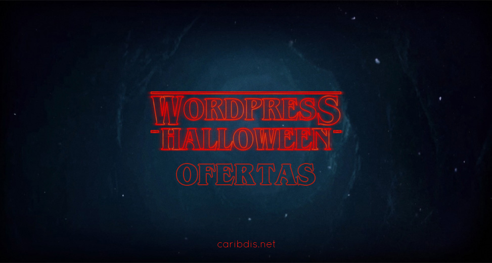 Ofertas de WordPress Halloween 2019