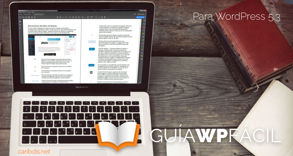 Guía para WordPress 5.3 disponible