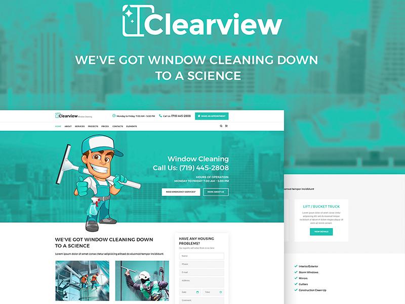 Tema De WordPress Clearview