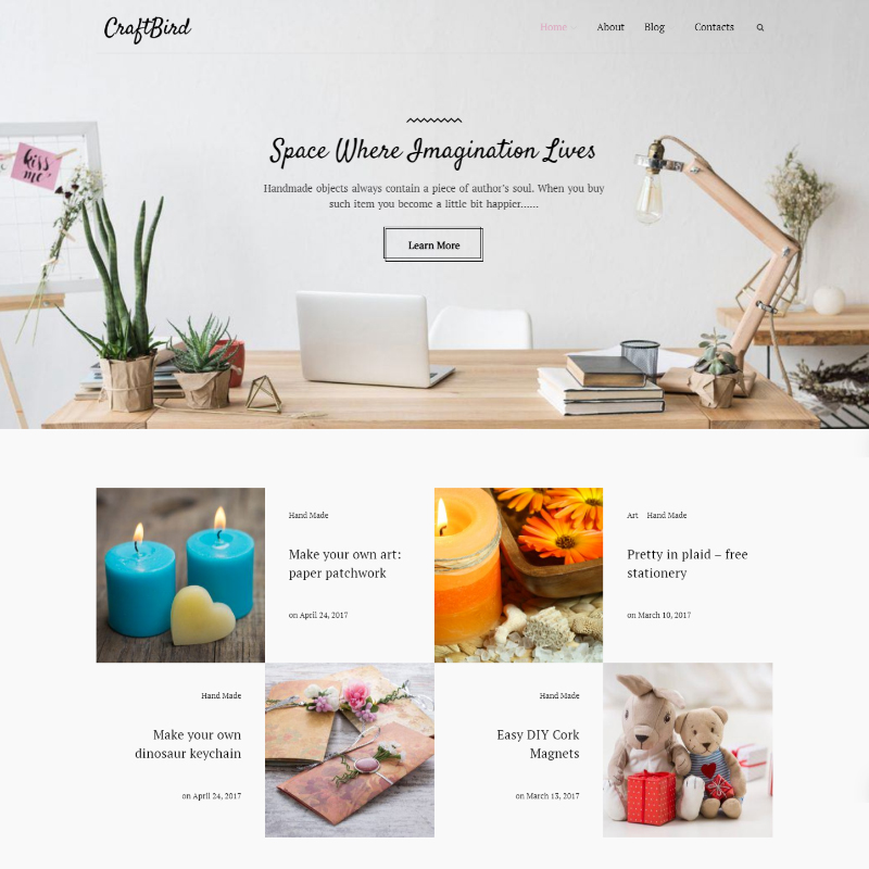 Tema De WordPress CraftBird